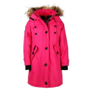 New Canada Weather Gear Toddler Girls Parka Jacket